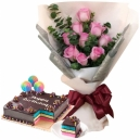 send flowers with cake to pampnaga