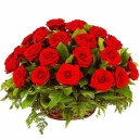 send rose basket to pampanga