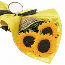 seasonal sunflower bouquet to philippines