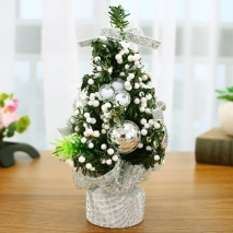 send 20cm silver mini decorated christmas tree to philippines