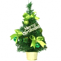 send 1ft green mini decorated christmas tree to philippines