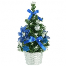 send 45cm blue small table top christmas tree to philippines