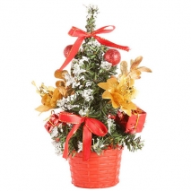 send 1 feet red christmas mini-tree to philippines
