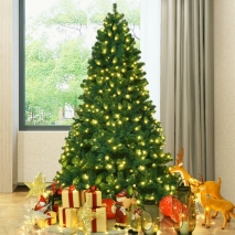 send 6 feet artificial christmas tree hinged led lights to philippines