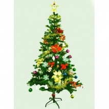 send fully decorated christmas pine tree to philippines