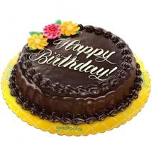 Chocolate Chiffon Round Cake By Goldilocks