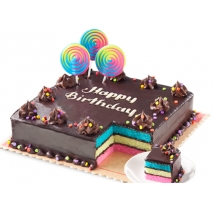 Rainbow Dedication Cake 8x8'' By Red Ribbon