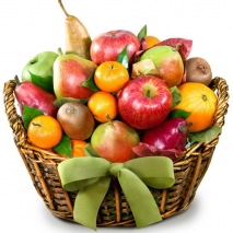 Full of Fruit in a Basket