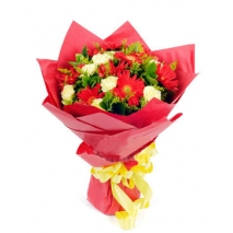 red gerbera yellow carnation to philippines
